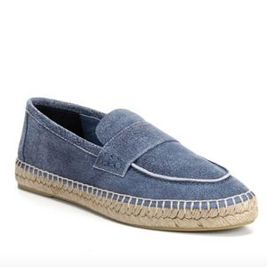 VINCE Daria Suede Espadrille Slip On Loafers Sz 7